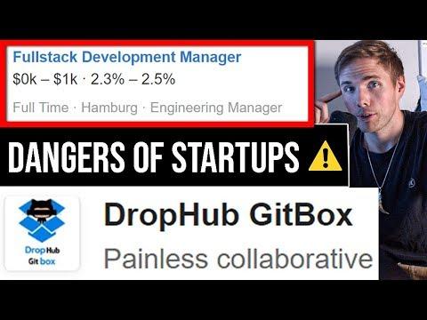 The DANGERS Of Startup Companies   Jr. Developers #grindreel