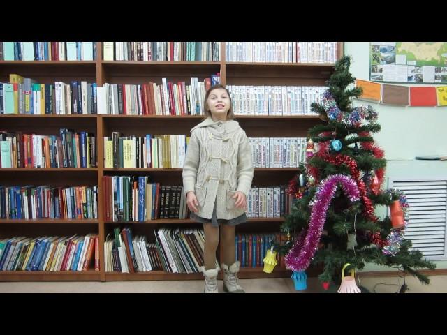 Изображение предпросмотра прочтения – КротоваКира читает произведение «У лукоморья дуб зеленый.» А.С.Пушкина
