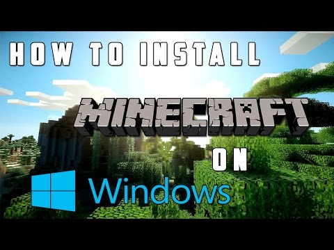 How To Install Minecraft! *2020* (Windows 10, 8, 7, Etc.)