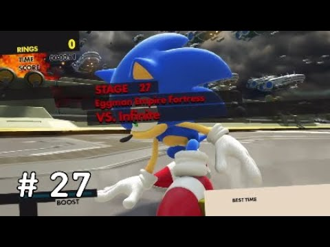 Sonic Forces Eggman Empire Fortress Vs Infinite Youtube