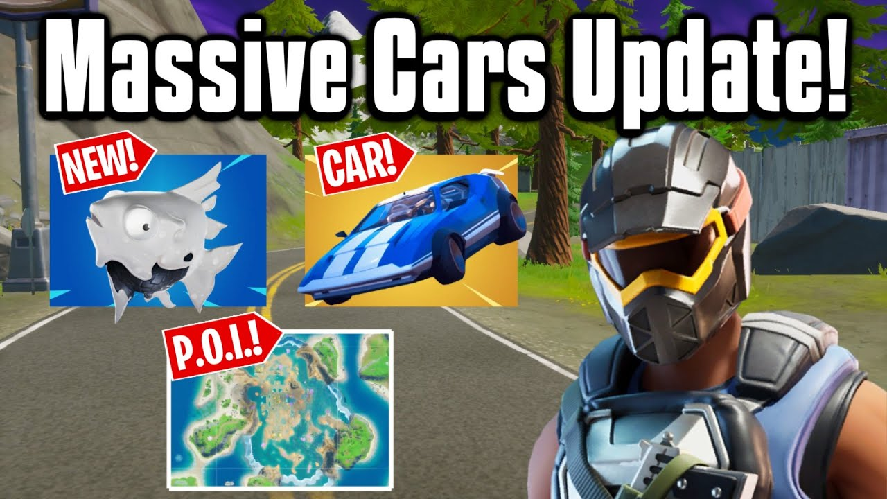 All The New Changes From The Cars Update Fortnite Season 3