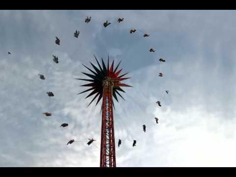 Animated Amusement Park Swings