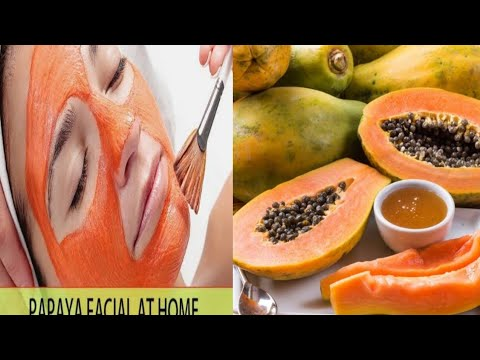 How To Do Papaya Facial At Home
