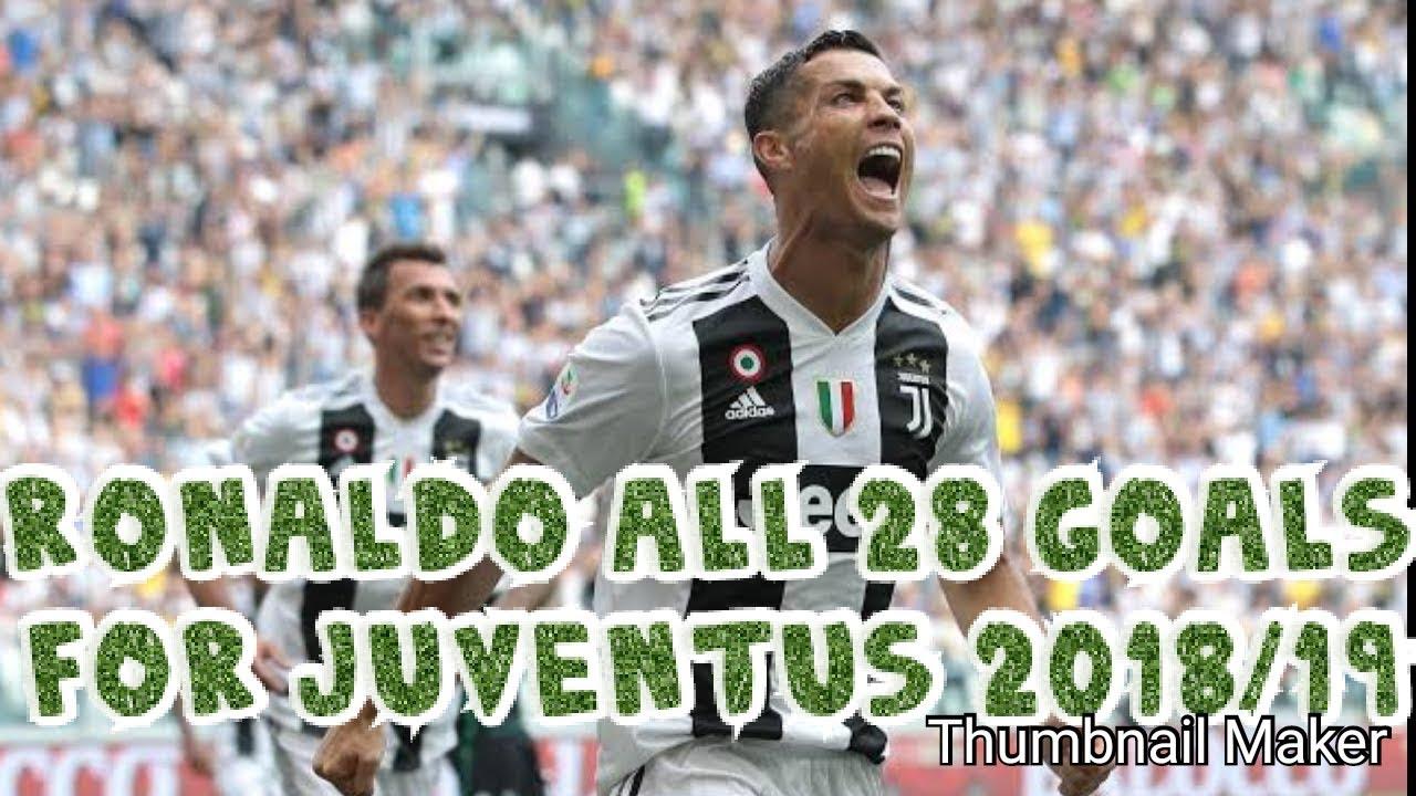 Download Christiano Ronaldo All 28 goals for Juventus 2018/19 season