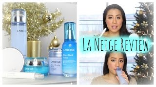 Gambar cover Laneige review | BB Cushion, Water Sleeping Mask, Water Bank Serum and more! | Korean skincare