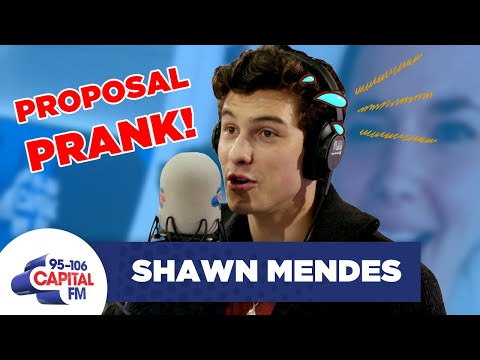 Shawn Mendes Ruined A Couple's Wedding Proposal On Radio