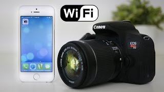 Canon T7i (800D) Tutorial - How to set up WiFi