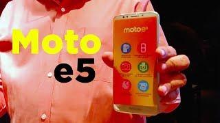 Presentación de Moto E5 en Mexico