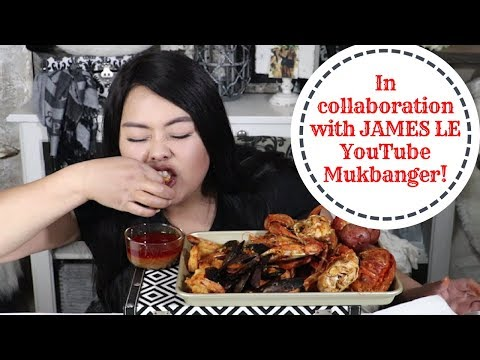 Seafood Feast Mukbang I Golden Grill And Seafood