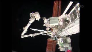 Raw: (Space)walkers Make Critical Repairs  12/22/13