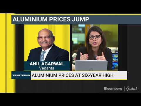 Anil Agarwal Expects Aluminium Prices To Jump 50%