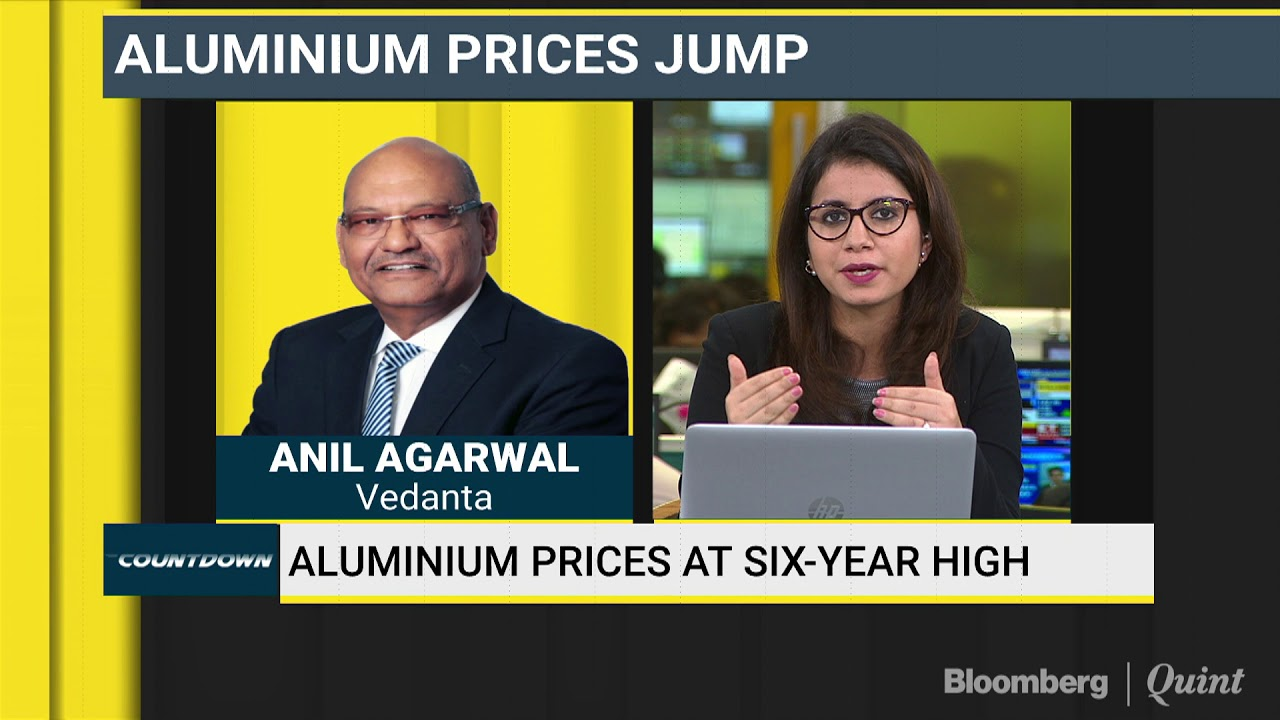 Vedanta's Anil Agarwal Expects Aluminium Prices To Jump 50