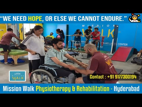 Best Spinal Cord Injury Treatment In India | Mission Walk - Hyderabad | Dr.Ravi | 9177300194