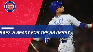 Javier Baez's 18 home runs put him in 2018 HR Derby