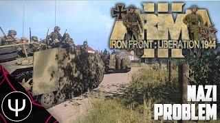 ARMA 3: Iron Front 1944 Mod — Nazi Problem!