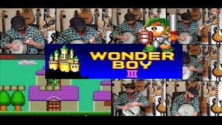 #Wonderboy 3 Cover - Monster Village - Banjo Guy Ollie