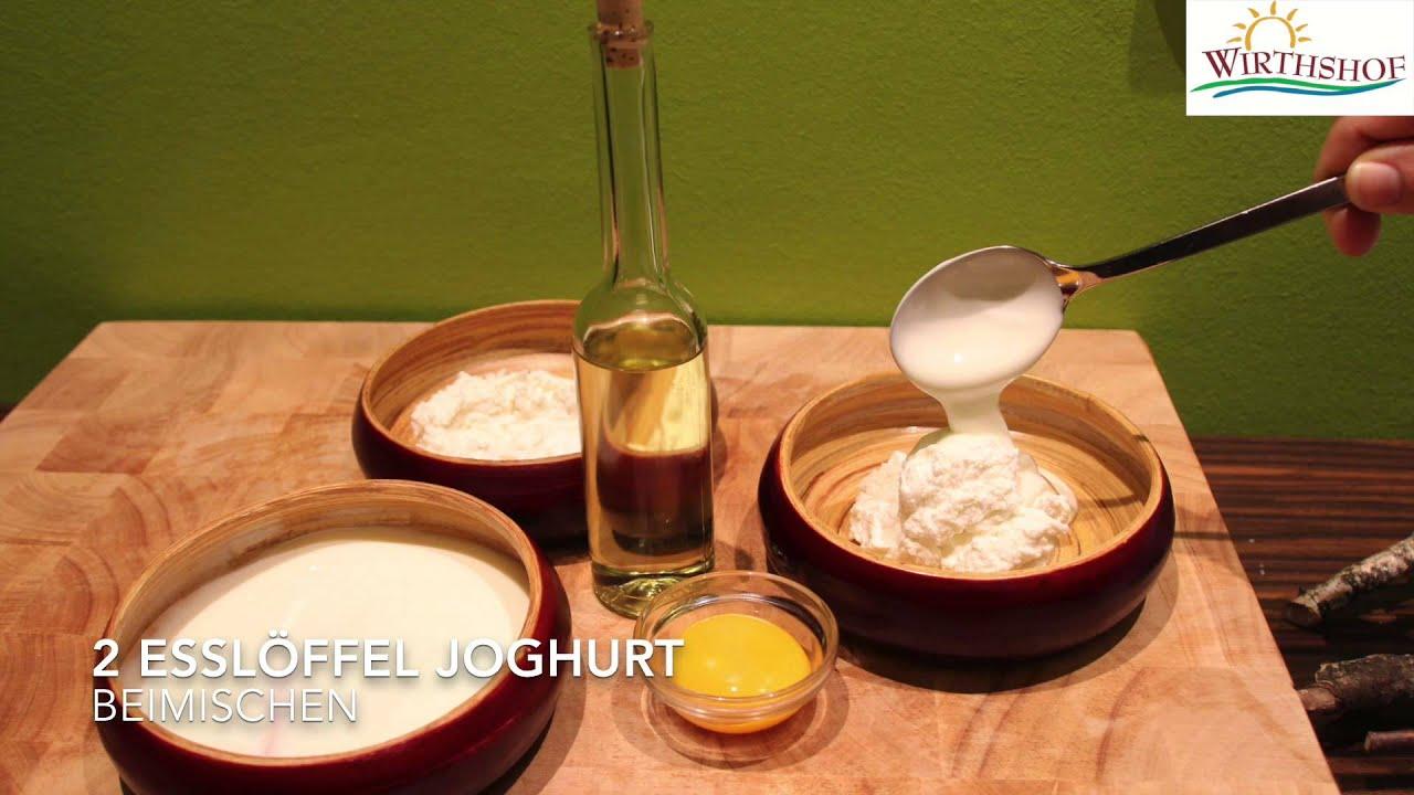 Attraktiv Hefemaske Das Beste Von Wellness- Und Beautyrezepte Vom Wirthshof: Quark-joghurt-Öl-maske