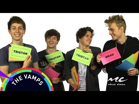 Music Choice Games: The Vamps - Who's More Likely To