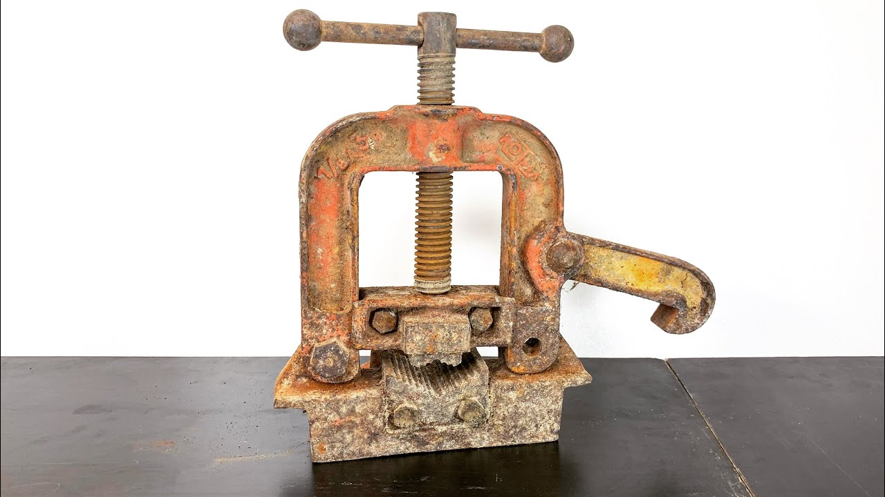 Rusty Pipe Vise Restoration