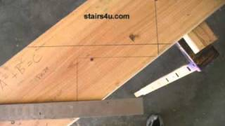 Stair Layout Framing Square Tip - Staircase Construction