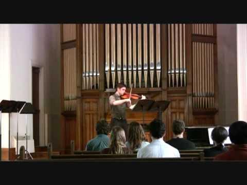 JS Bach, Solo Cello Suite #3: IV: Sarabande