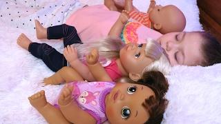 ВРЕДНЫЕ ДЕТКИ КУКЛЫ БЕБИ БОН Играем в дочки матери Кукла Беби борн для детей Мультик с куклами