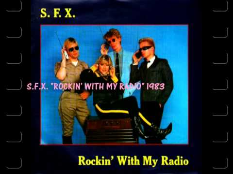 "S.F.X. (Samantha Fox薩曼莎 ) sings  ""ROCKIN' WITH MY RADIO 收音機和我跳舞"" 1983"