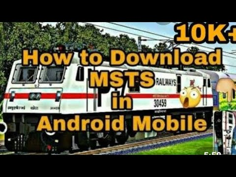 How To Download MSTS In Android Mobile || Microsoft Train Simulator