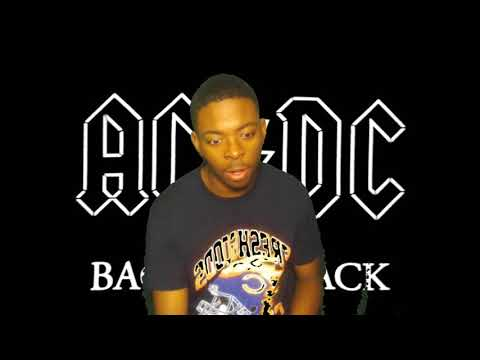 First Time Reacting To AC/DC's Music, Back In Black(Album Reaction)