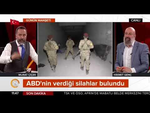 Afrin'de bırakıp kaçtılar: İşte PKK'nın 12 odalı terör deposu (ABD silahları)