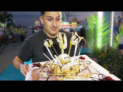 Fun Food and Fast Rides at the Florida State Fair!