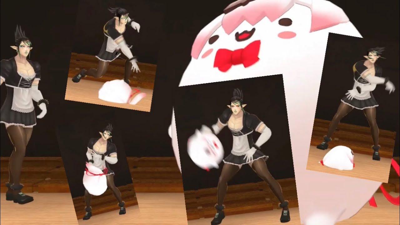 [First 3D] Chaika beats her up violently, throws her on the ground 【Hanabatake Chaika/Shiina Yuika】