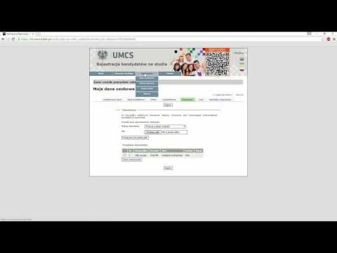 Онлайн регистрация абитуриентов в УМКС - учебное видео.