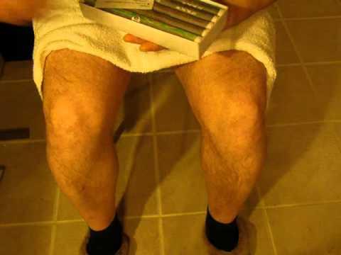 Лечение коленей в домашних условиях