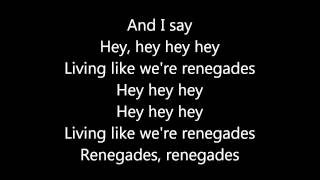 Video X Ambassadors -  Renegades - Lyrics download MP3, 3GP, MP4, WEBM, AVI, FLV Oktober 2017