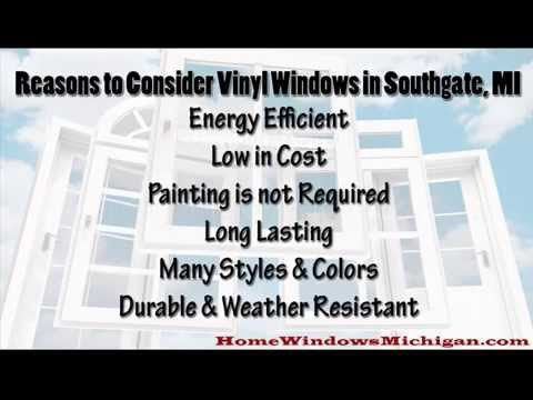 Reasons to Consider Vinyl Windows in Southgate MI