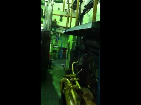 M/V Pope John Paul II Engine Room