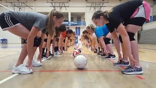 Download Video BEST VOLLEYBALL TRAINING GAMES (HD) #3 MP3 3GP MP4