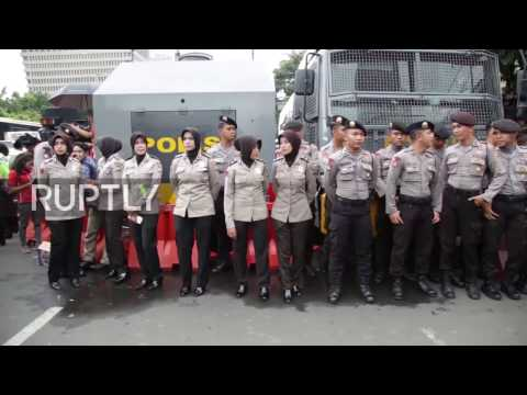 Indonesia: Heavy police presence outside Jakarta court as protesters demand Ahok's imprisonment