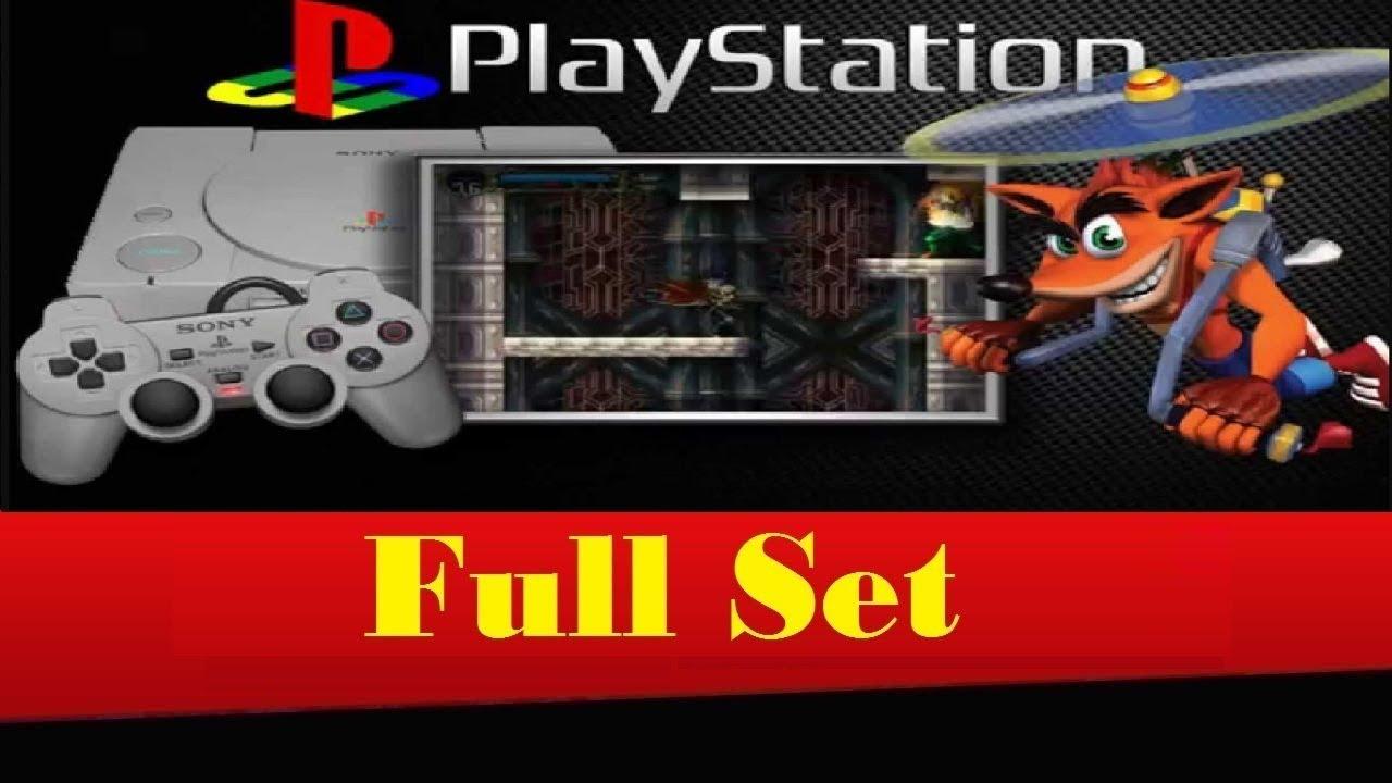 FullSet Playstation/PSX/PS1 (USA)