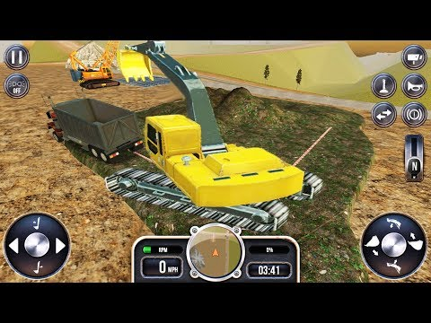 Control Heavy Construction Technique (Extreme Trucks Simulator) #2 | Gameplay Android and iOS