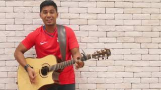 53A - Tomorrow's Here Today (Aaron Aloysious Acoustic Cover) Video