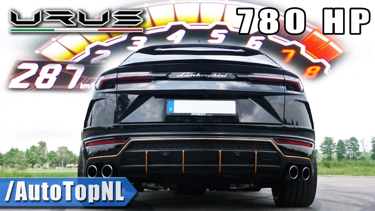 780HP LAMBORGHINI URUS Elmerhaus 100-200 *DECAT* SOUND by AutoTopNL