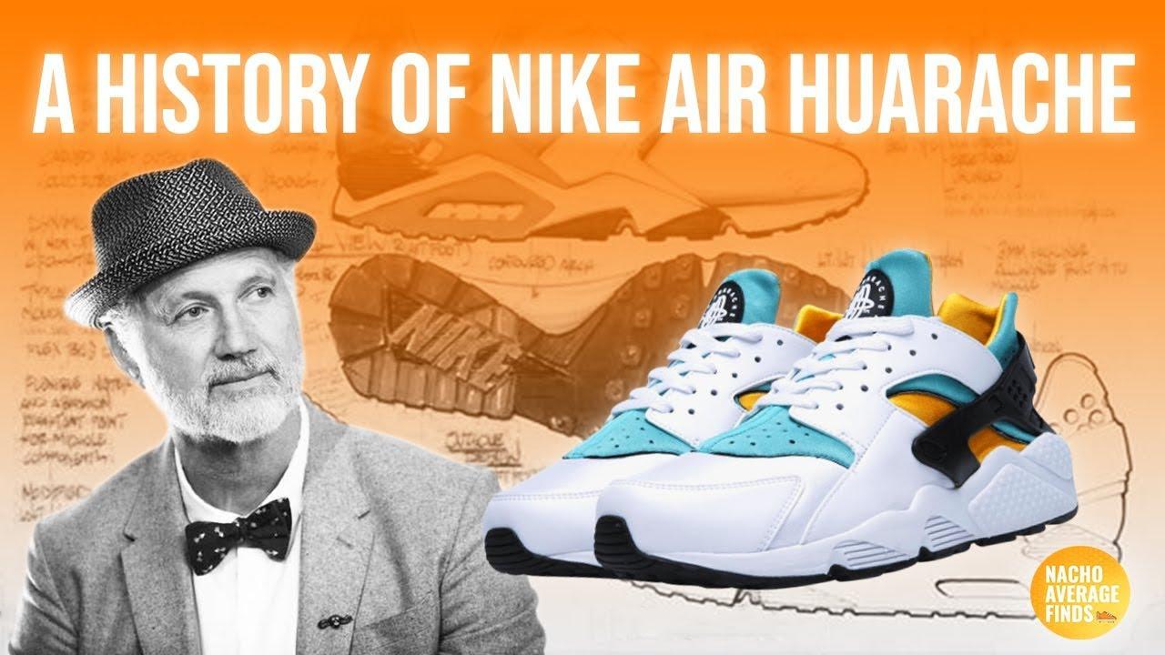nike air huarache history