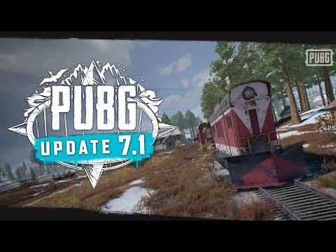 PUBG - Patch Report - Update 7.1
