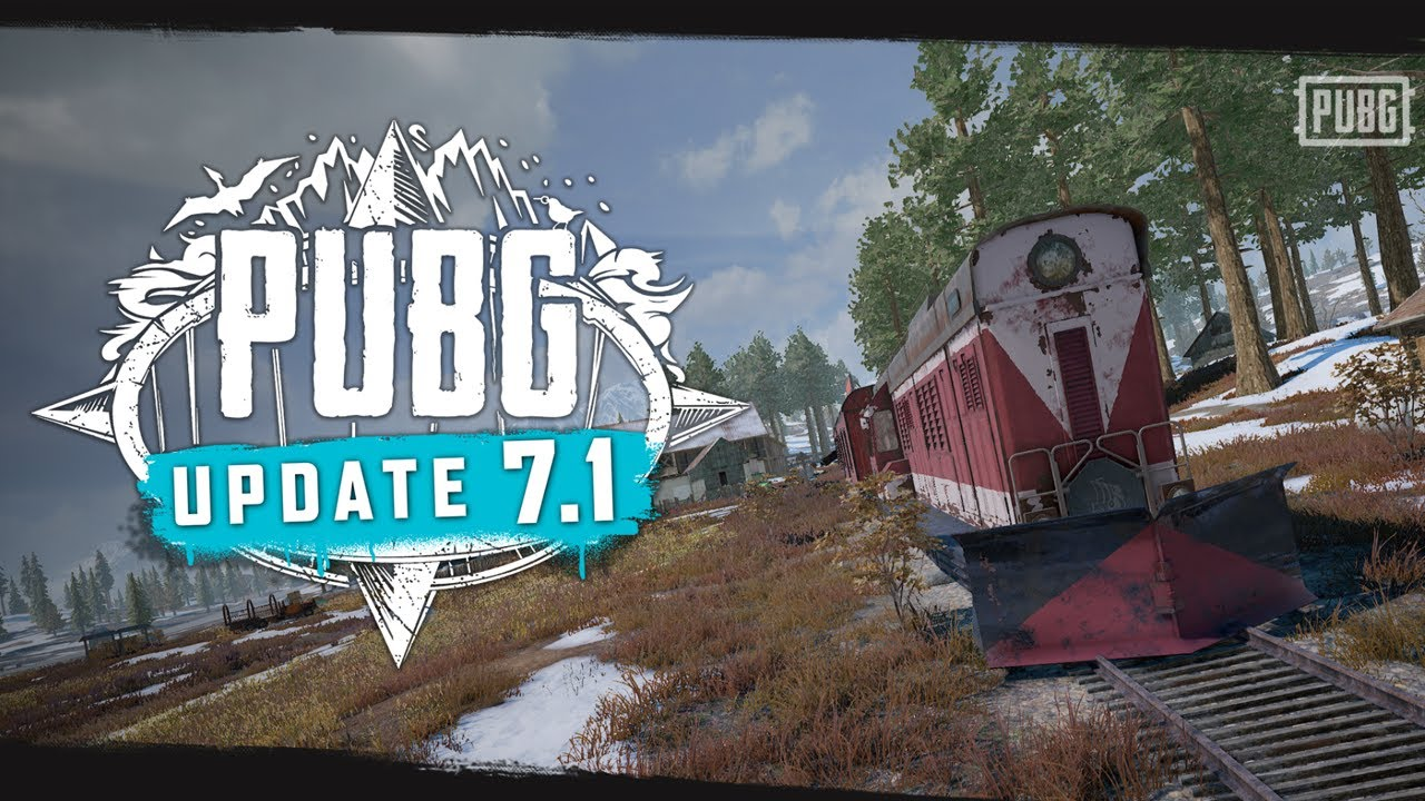 PUBG - Patch Report - Update 7.1