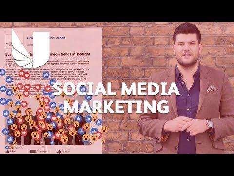 Social Media Marketing at the University of West London