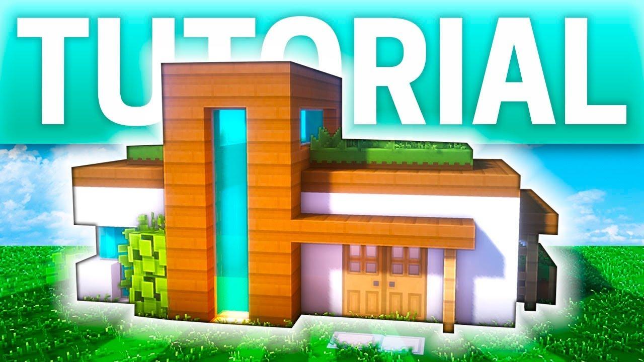 casa moderna con jard n en el tejado tutorial