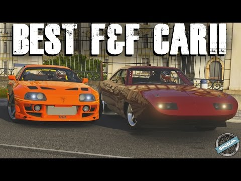 BEST FAST & FURIOUS CAR    Supra VS Charger    Forza 6 Challenge w/ AR12