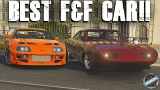 BEST FAST & FURIOUS CAR || Supra VS Charger || Forza 6 Challenge W/ AR12